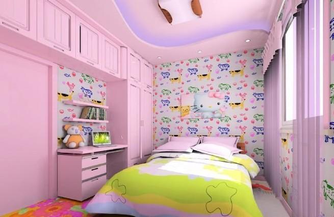 女孩房间装修效果图
