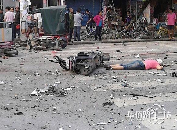 桂林八里街爆炸案已致34人受伤 其中5人病危