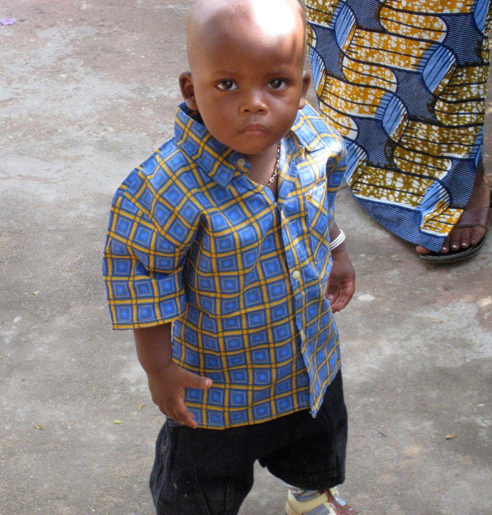 非洲可爱的孩子们