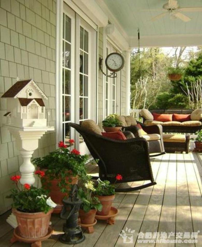 阳台装修效果图 享受日光浴