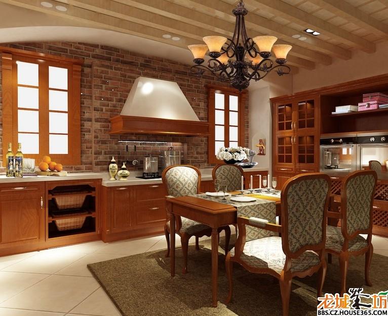 欧式厨房装修效果图 家装大家谈客厅隔断装饰效果图 别墅