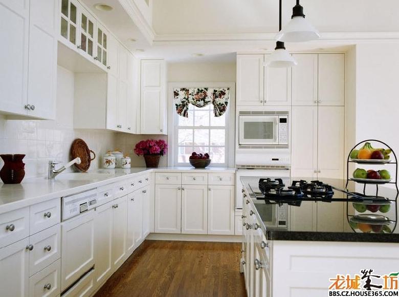 欧式厨房装修效果图片