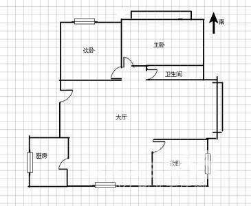临泉路地铁口四泉花园 精装三房无税 可拎包入住 长二小45中
