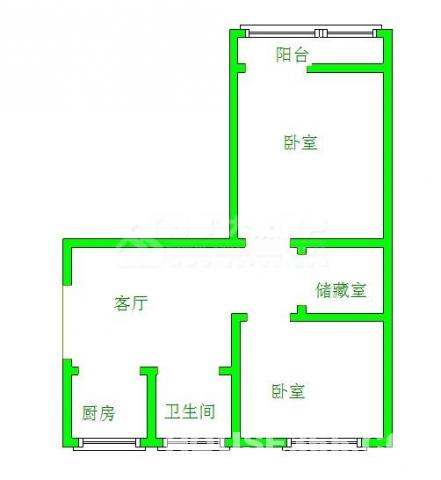 茂业地铁口翠云新村5楼婚装5年朝南通透2室1厅急售阳光好出入方便