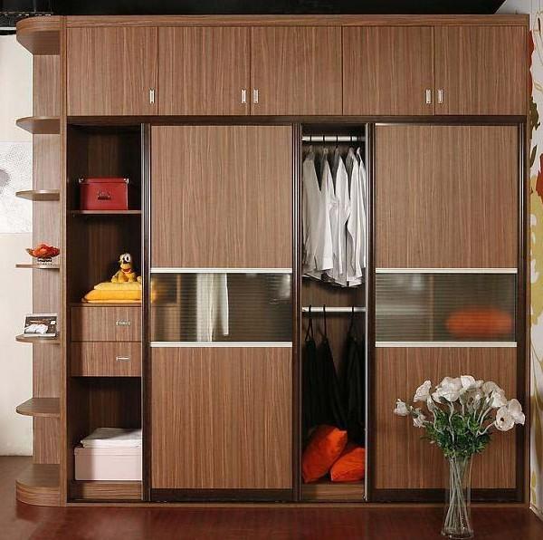南京欧栎橱柜之欧栎实木橱柜定制衣柜移门板式家具