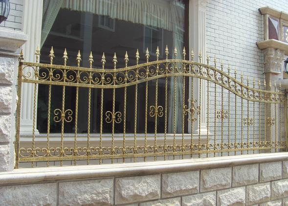 手工铁艺栏杆(护窗,防盗窗)