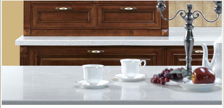 金牌厨柜之金牌厨柜 西西里实木系列古典风格整体橱柜