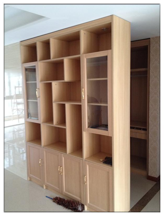 书柜 ★型材:此书柜柜体采用实木颗粒板制作而成