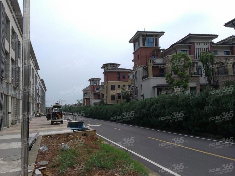 大学城别墅推荐方山旁 加州城独立别墅 毛坯 满两年大花园