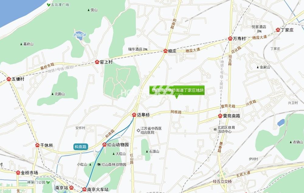 南京1865创意园地图