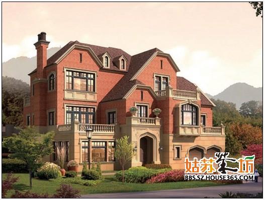 斜屋面房子设计图简约