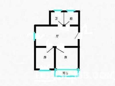 【本地中介】东亭家园中户!2房1卫!满5年,税费少