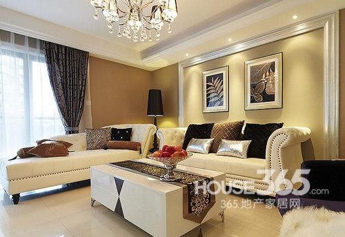 简欧风格装修图片:欧式格调的沙发