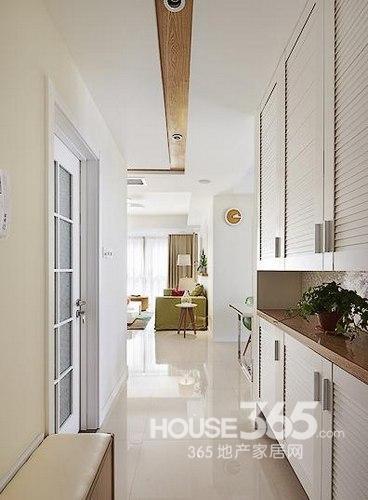 效果不奢华,但还是很清新雅致的.90平米房屋装修,你的小家也