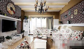 欧式田园风格地板图例 2013新房装修样板房