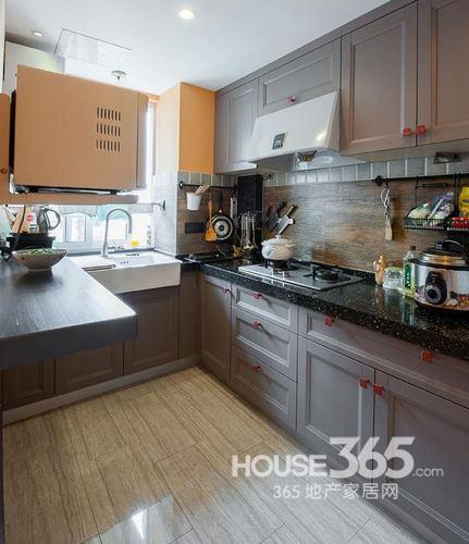 80平米房子装修:厨房
