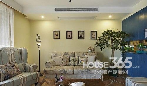 90平米装修两室两厅 美式混搭风超温馨