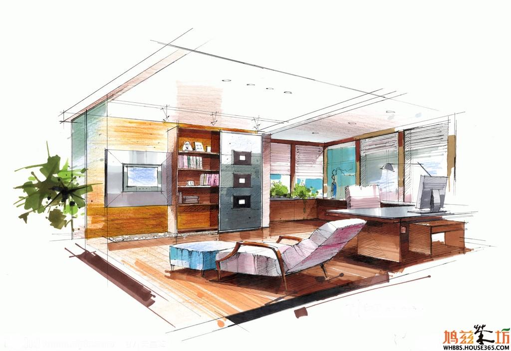 文庭半里300平米田园设计四室二厅三卫装修案例效果图
