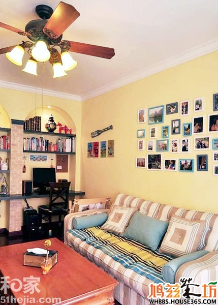 70平方米装修样板房   70平方米装修样板房中满满的流行元素,