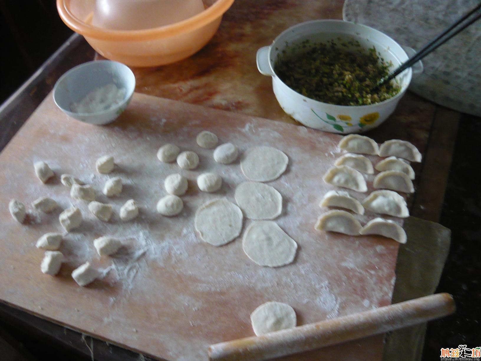 饺子制作步骤图解
