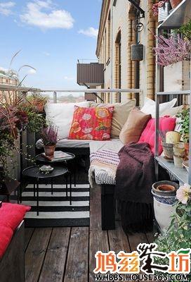 小型阳台装修效果图,教您合理利用小阳台!