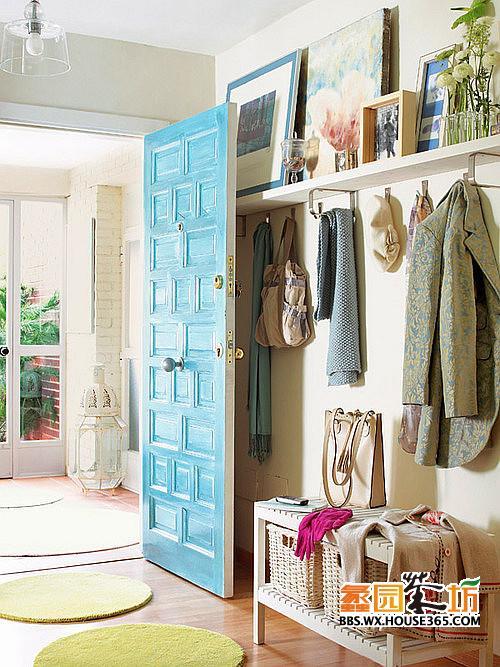 欧式玄关鞋柜效果图,享受舒适家居生活,跟大家一起分享分享