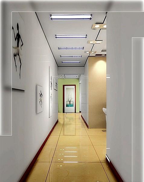 几种走廊吊顶效果图