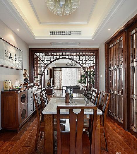 中式客厅装修,古朴唯美的中国风