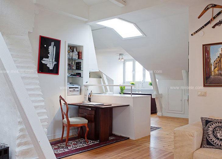 赏10款大气的卧室书桌图片