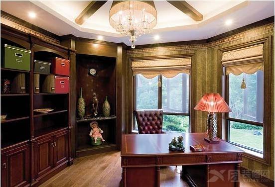 红木家具装修效果图 大气时尚的家装你值得拥有