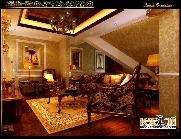 白桦林间189㎡古典欧式城堡之家