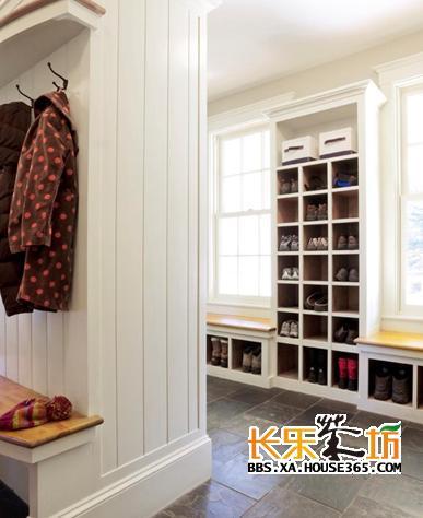 家装入户柜子图片 入户玄关装修效果图 入户门柜子