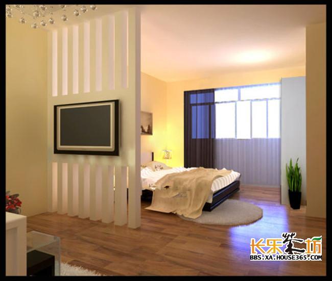 客厅卧室隔断设计图片展示